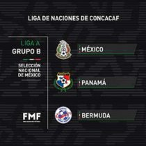 Conoce el Tri sus rivales en la Nations League