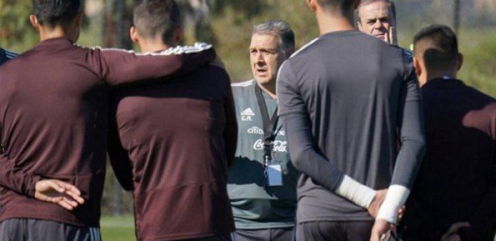 Realizó Tri primer entrenamiento con Martino al frente