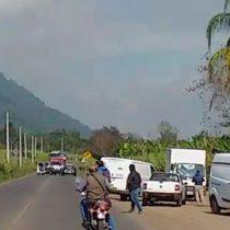 Matan a balazos a cuatro personas en carretera de Veracruz