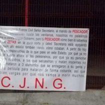 Con narcomantas declaran la guerra a gobierno de Veracruz