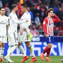 Derbi Real Madrid- Atlético se jugará fuera de Europa