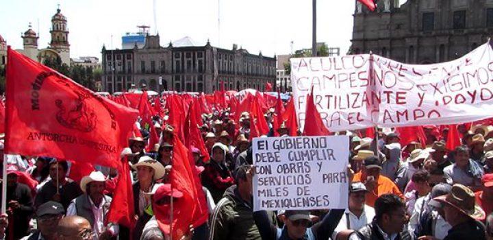 Ante cerrazón del gobierno estatal, Antorcha anuncia megamarcha de 50 mil antorchistas