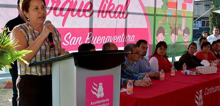 Modernizarán parque Tikal en Ixtapaluca