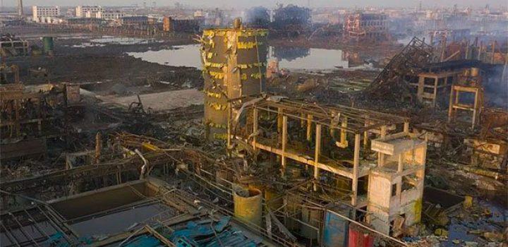 Suman 78 muertos por explosión en planta química de China