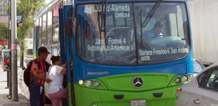 Anuncia PRI amparos para apoyar a usuarios de transporte