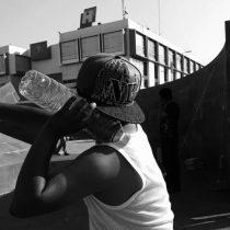 Con porros y malandros, gobierno de Omar Fayad amedrenta plantón antorchista