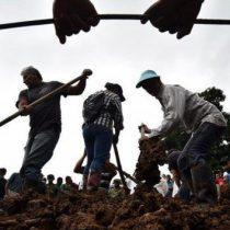 Suben a 20 los muertos por alud de tierra en Colombia