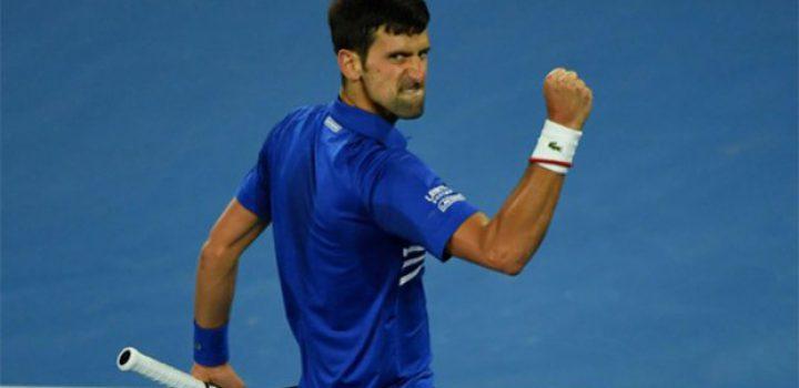 Djokovic, a la cabeza de la clasificación ATP
