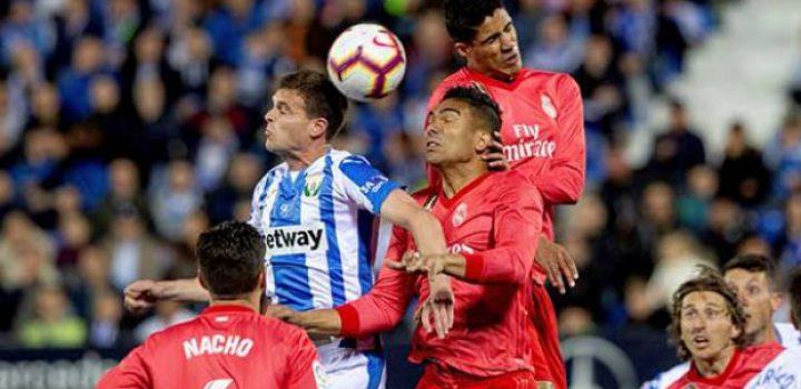 Saca Madrid empate ante el Leganés