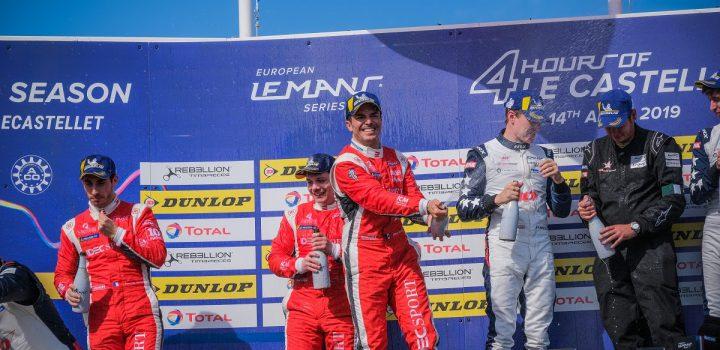 Primer podio del año para Rojas en la ELMS