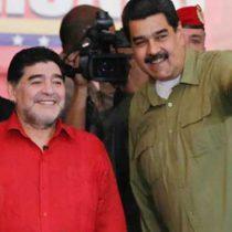 Maradona envía mensaje de apoyo a Maduro