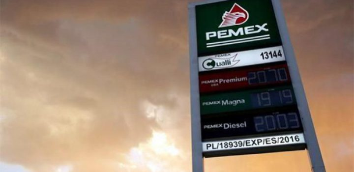 Se ampara Pemex por precios a gasolineros