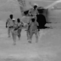 Video capta a comando en cruce ilegal de madre e hijo a EU
