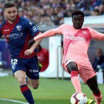 Barcelona muestra poco en empate 0-0 ante el Huesca