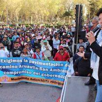 40 mil hidalguenses se manifestarán para pedir atención a sus demandas y alto a las agresiones por parte del Gobernador