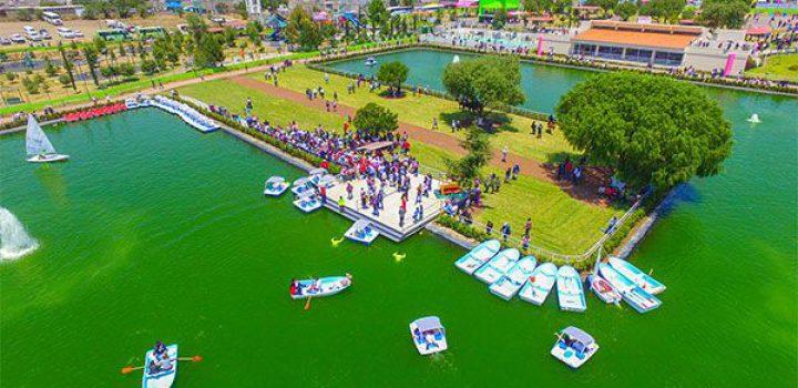 Inauguran Lago Artificial en Chimalhuacán