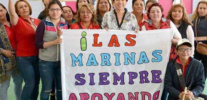 En Ixtapaluca no queremos dádivas, sino obra social: Maricela Serrano