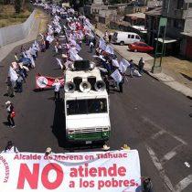 Marchan 2 mil antorchistas en Tláhuac; logran cita con alcalde