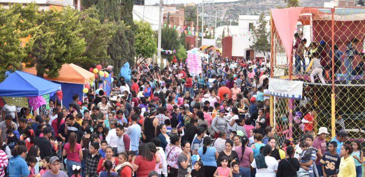 Con la Ciudad de los Niños, festeja Gobierno de Trancoso a los pequeños del hogar