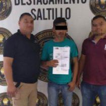 Cayó asesino de médico de Tabasco en Coahuila