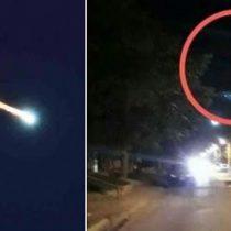 Cae meteorito en Uruapan y graban videos de la zona del impacto