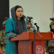 Afganistán nombra mujer, ministra de Defensa