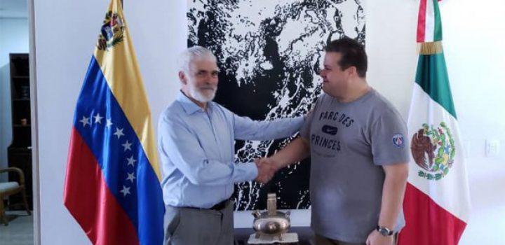 México realiza trámite para dar asilo a opositor a Maduro