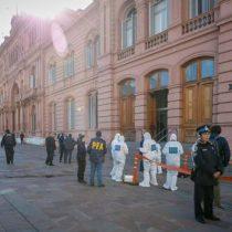 Casa Rosada de Argentina es amenazada por bombas y armas