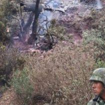 Se accidenta aeronave en aeropuerto de Atizapán, su piloto calcinado