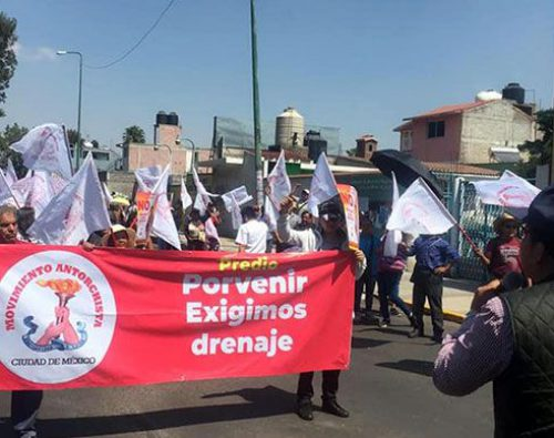 Antorcha en la Ciudad de México pospone manifestación por contingencia ambiental