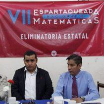 Realizarán Eliminatoria Estatal de Espartaqueada de Matemáticas