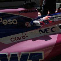 Difícil primer día de ensayos para Checo Pérez en el Circuito de Barcelona-Cataluña
