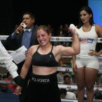 María Salinas venció a Candy Sandoval en función de box en Aguascalientes