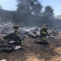 Incendio en km 17.5 controlado a la totalidad en Cuajimalpa