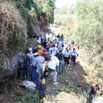 Tlalpan realiza limpieza del Río San Buenaventura