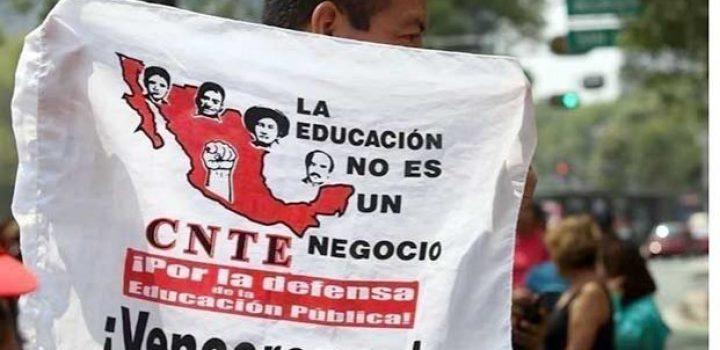 Anuncia CNTE paro en Chiapas