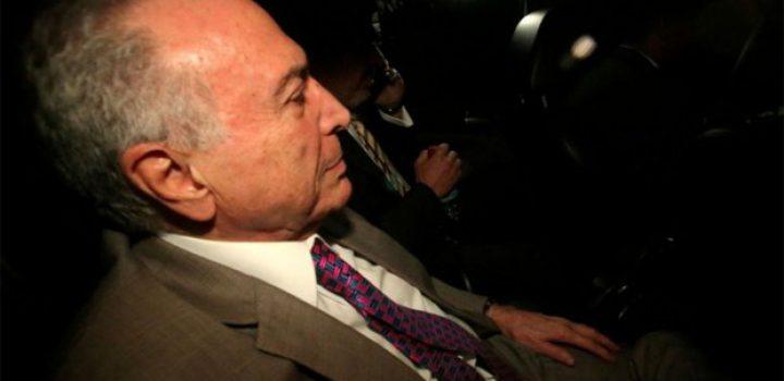 Revocan prisión preventiva a ex presidente de Brasil Michel Temer