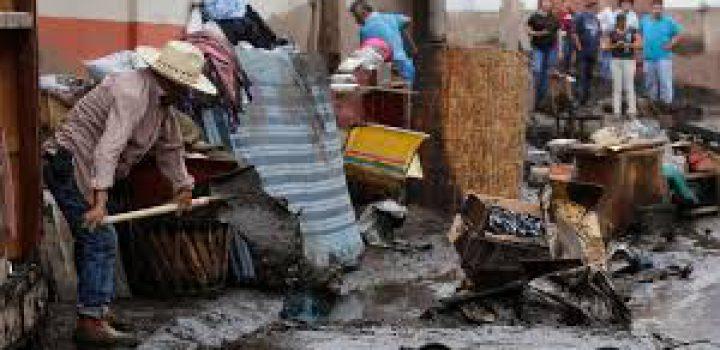 Declaran emergencia en Jalisco tras desbordamiento de río