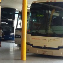 Reportan explosión en autobús en Michoacán