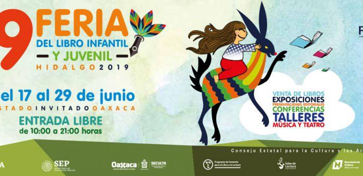 Espera cifra histórica de visitantes la Feria del Libro Infantil y Juvenil Hidalgo 2019