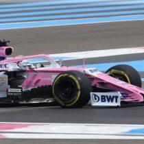 Luego de primeras prácticas en el GP francés, Checo y equipo buscan mayor balance y ritmo