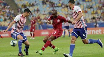 Sorprende Qatar a Paraguay en debut