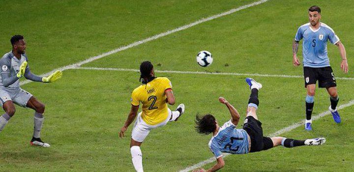 Uruguay golea a Ecuador en su debut en Copa América 2019