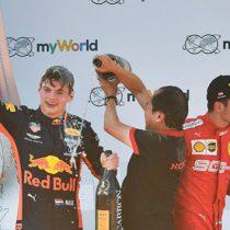Verstappen remonta para vencer en el GP de Austria de F1