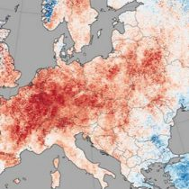 Primera ola de calor en Europa superaría los 40°C