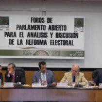 Se oponen PAN y PRI a reducción de dinero público a partidos