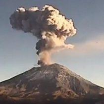 Popocatépetl registra dos explosiones y 37 exhalaciones
