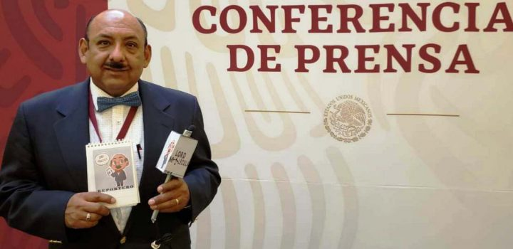 """Usa periodista a """"La Mañanera"""" para extorsionar"""