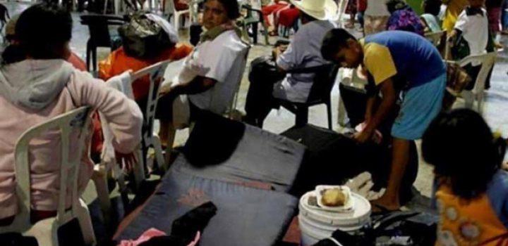 Instalan refugios en Oaxaca por temporada de huracanes