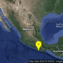 Se registra sismo de 4.8 en Pinotepa Nacional, Oaxaca